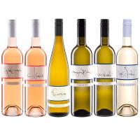 So schmeckt der Sommer 6 Flaschen fruchtig, duftender Weiss- und Roséweine